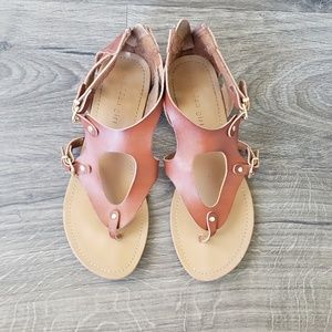 Madden girl zip back sandals